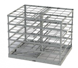 18 DIN Tray Belimed Instrument Racks